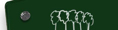 Lavagna in Vetro Verde Scuro